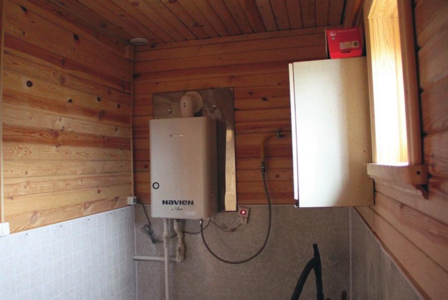 План — схема подключения газового котла к системе отопления