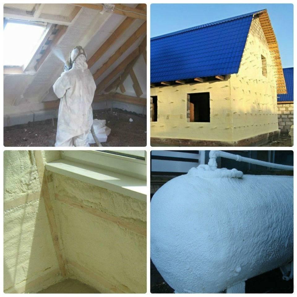 Пенополиуретан утепление напылением ппу | москва kucherenkoff & co