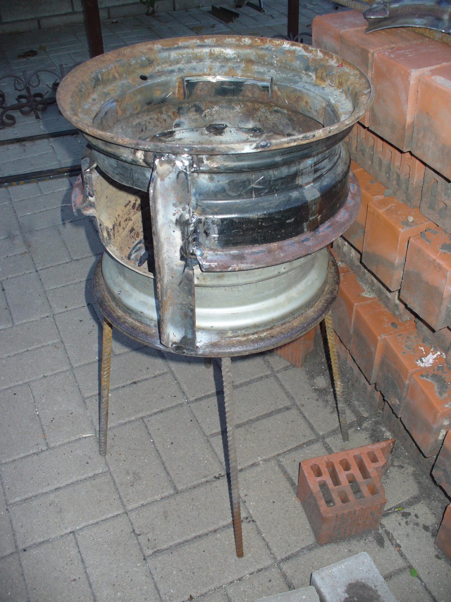 Как сделать мангал из дисков от машины своими руками: пошаговая инструкция, идеи, виды печей, фото