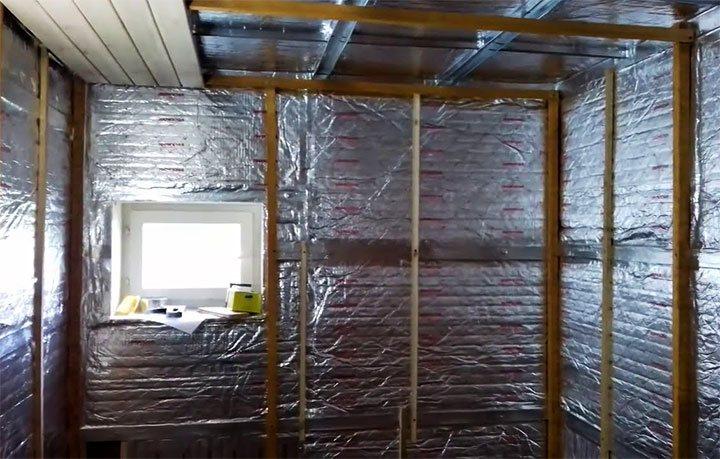Как правильно утеплить баню из керамзитобетонных блоков — инструкция
