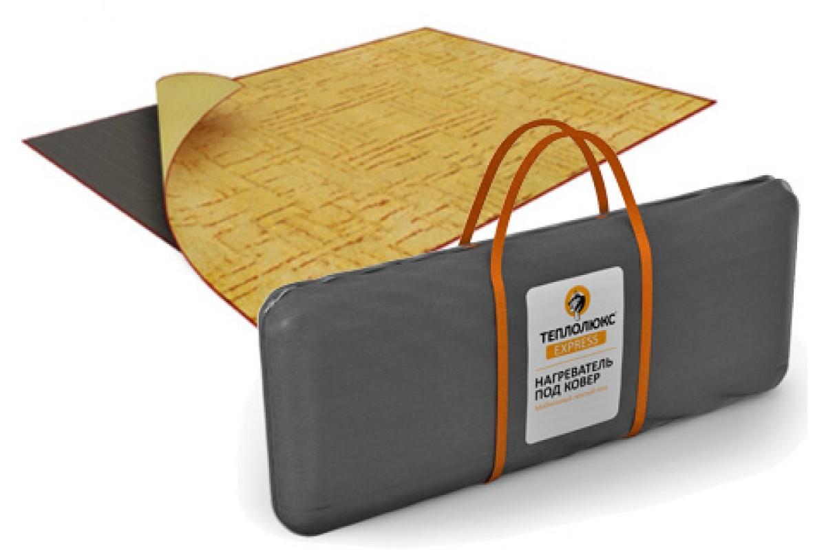 Мобильный теплый пол под ковер на деревянный пол, инфракрасный переносной коврик с подогревом под палас, пленочный электрический пол
