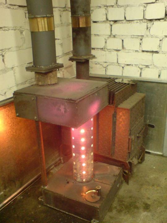 Как сделать печь на масляной отработке: инструкция по изготовлению - vodatyt.ru