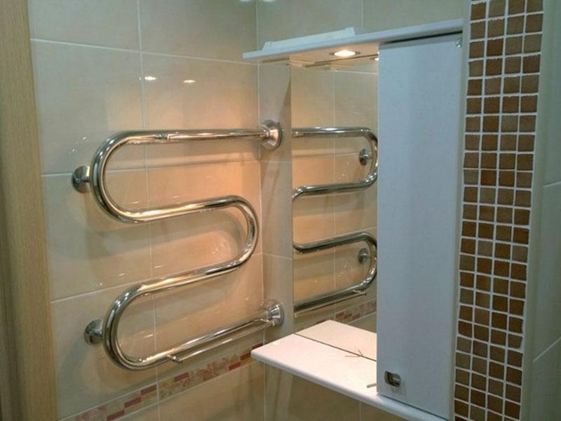 Замена полотенцесушителя в ванной комнате: как поменять своими руками, цена замены