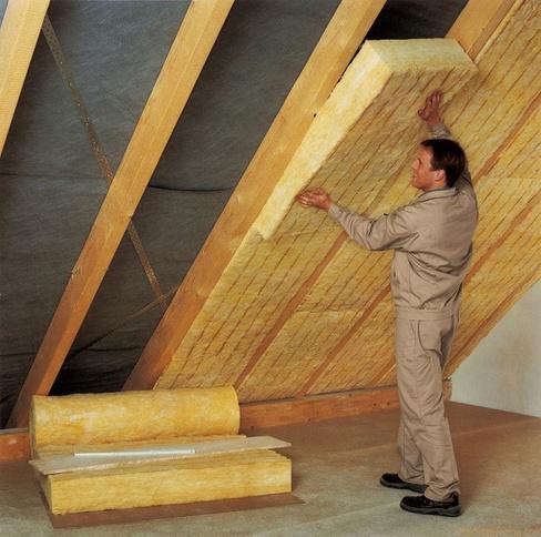 Размеры утеплителя для крыши