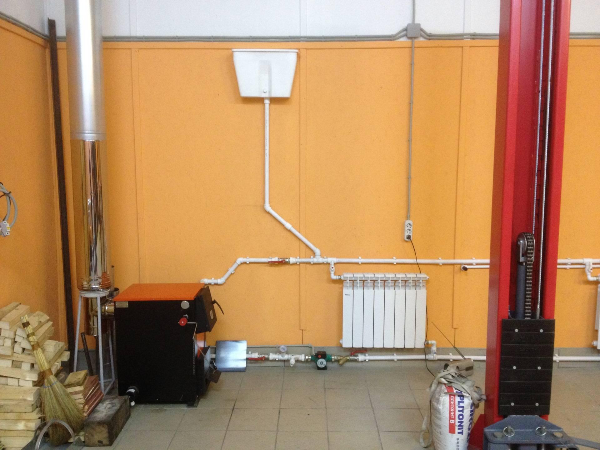Отопление в гараже: как сделать своими руками дешево и быстро, как правильно топить - экономный способ на тосоле