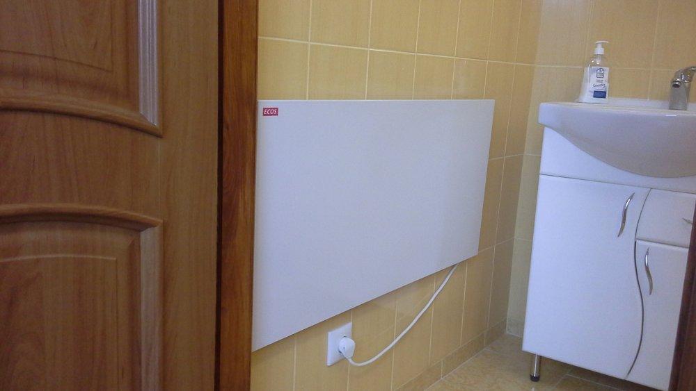 Какой обогреватель выбрать для ванной комнаты?