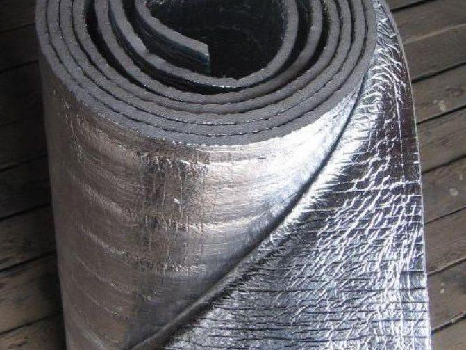 Магнел фольгоизолон нпэ 10 ф шир. 1.2 м (18 м2) фольга