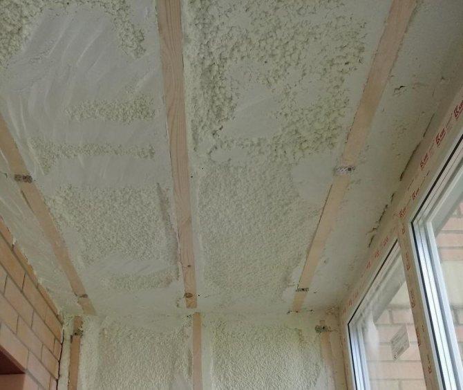 Утепление балкона пенополиуретаном (ППУ) своими руками: фото, видео