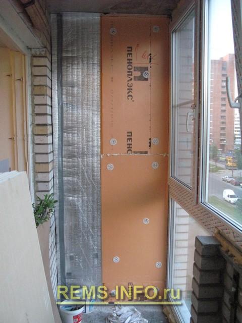 Технология утепления балкона — пошаговая инструкция