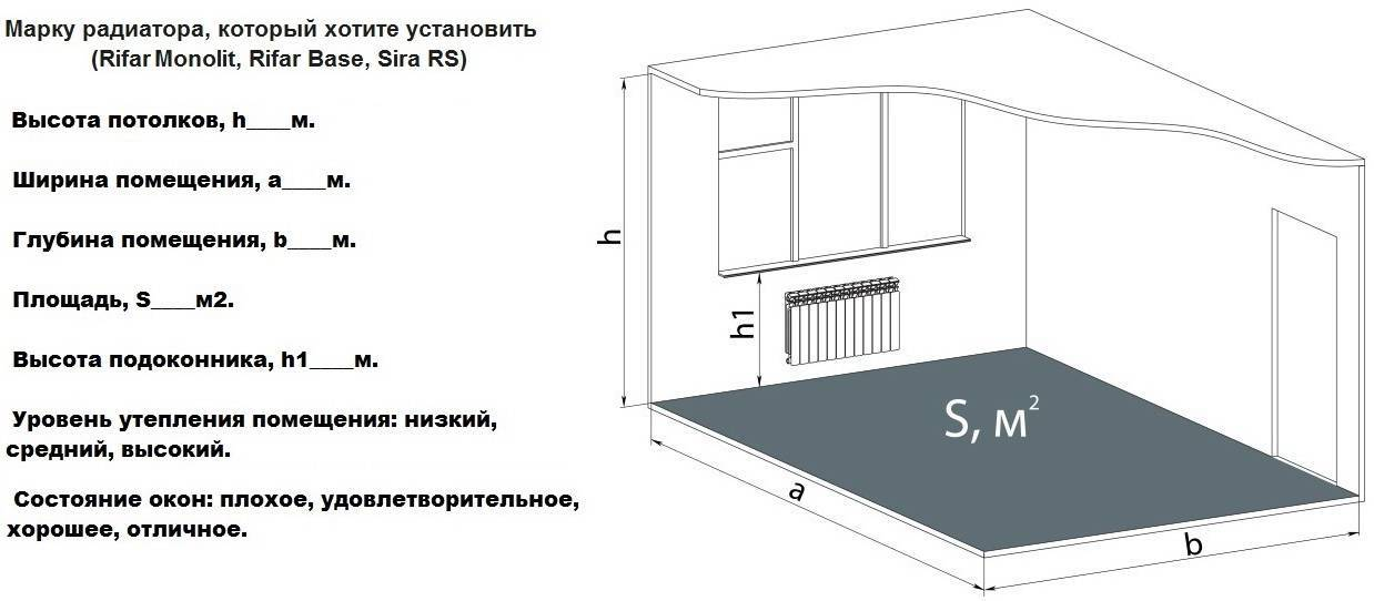 Особенности расчета тепловой энергии на отопление здания