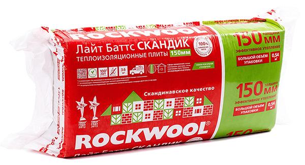 Rockwool лайт баттс и скандик отличие - вместе мастерим