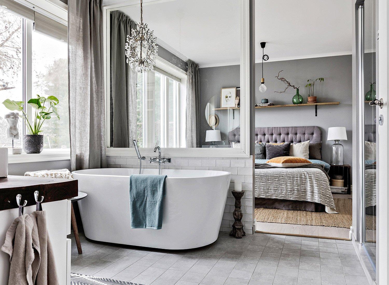 Ванная в скандинавском стиле – ключевые характеристики и правила оформления
