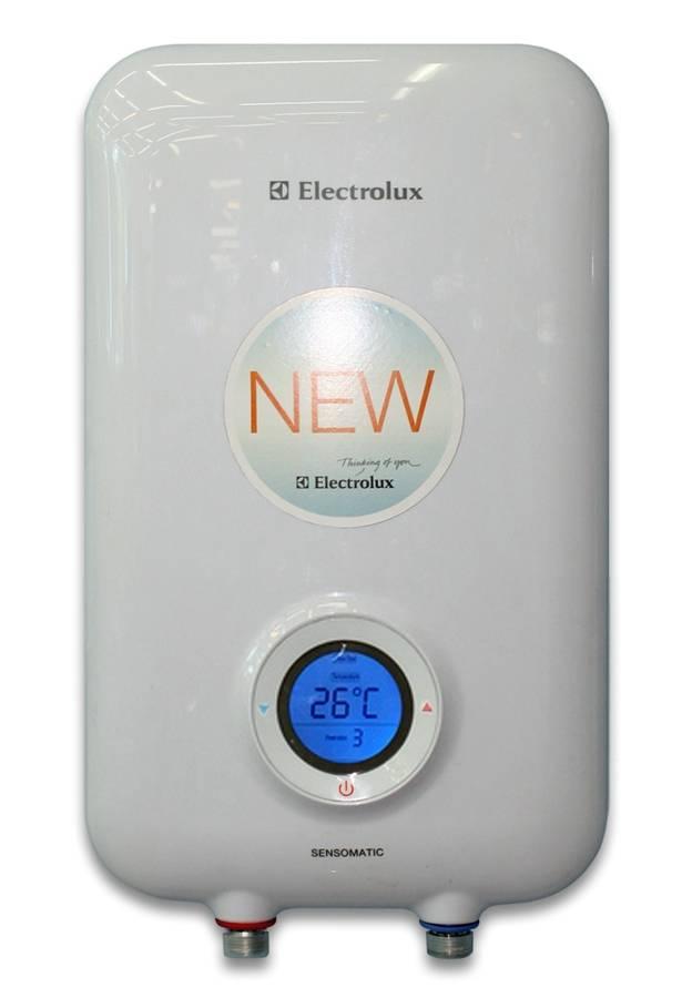 Обзор накопительных и проточных водонагревателей от электролюкс