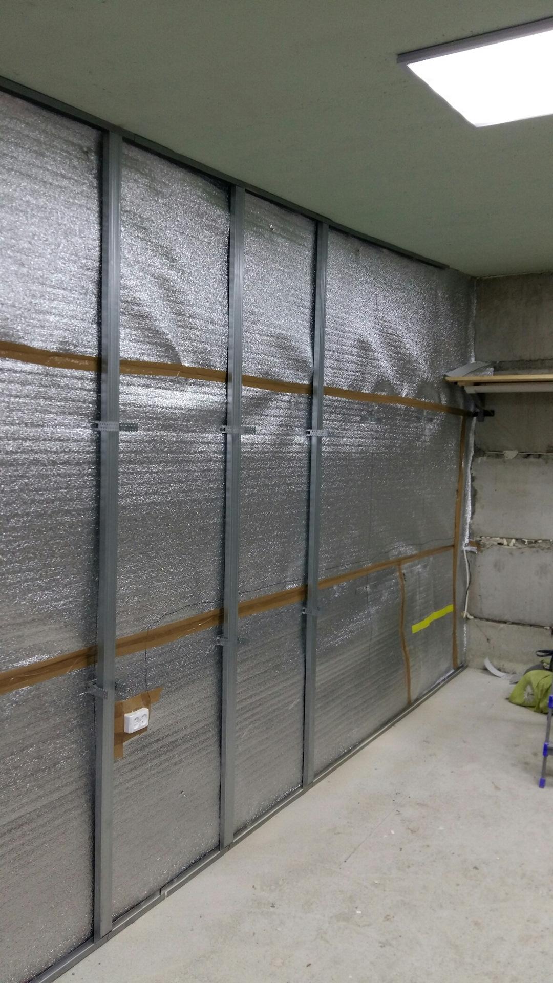 Утепление гаража: простые идеи и современные варианты теплоизоляции