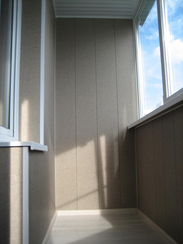 Отделка балкона пластиковыми панелями, пошаговая инструкция с видео