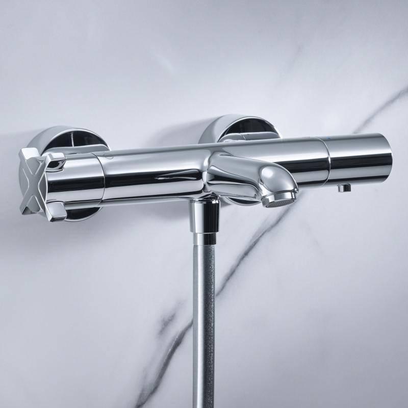 Смеситель с термостатом для ванны и душа: что это такое, принцип работы