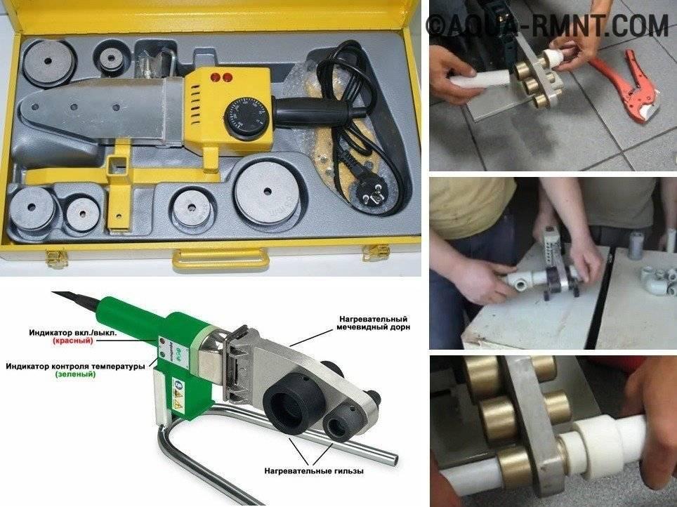 Как правильно паять пластиковые трубы – инструменты и инструкция по соединению