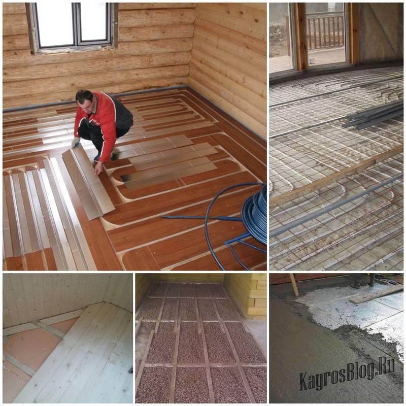 Утепление пола в деревянном доме сверху - рейтинг материалов, инструкциии!
