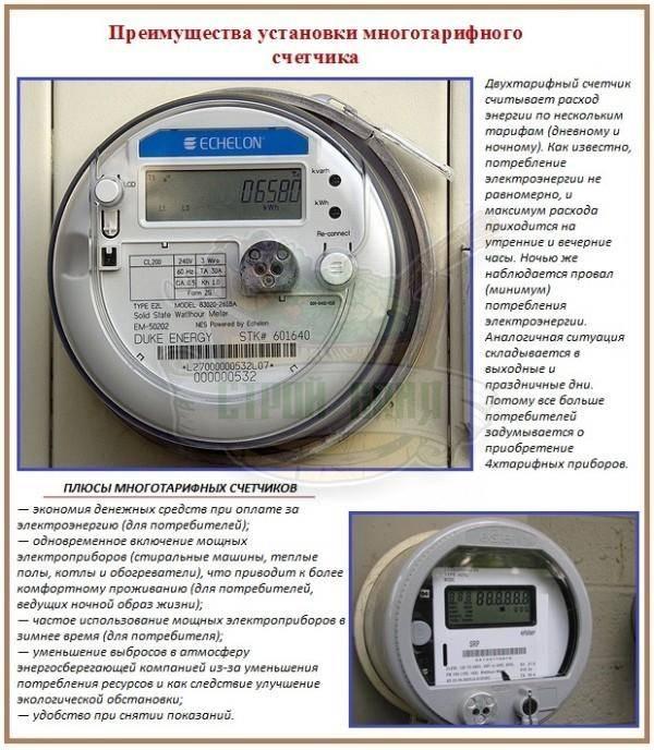 Двухтарифный счетчик электроэнергии: преимущества и недостатки, особенности