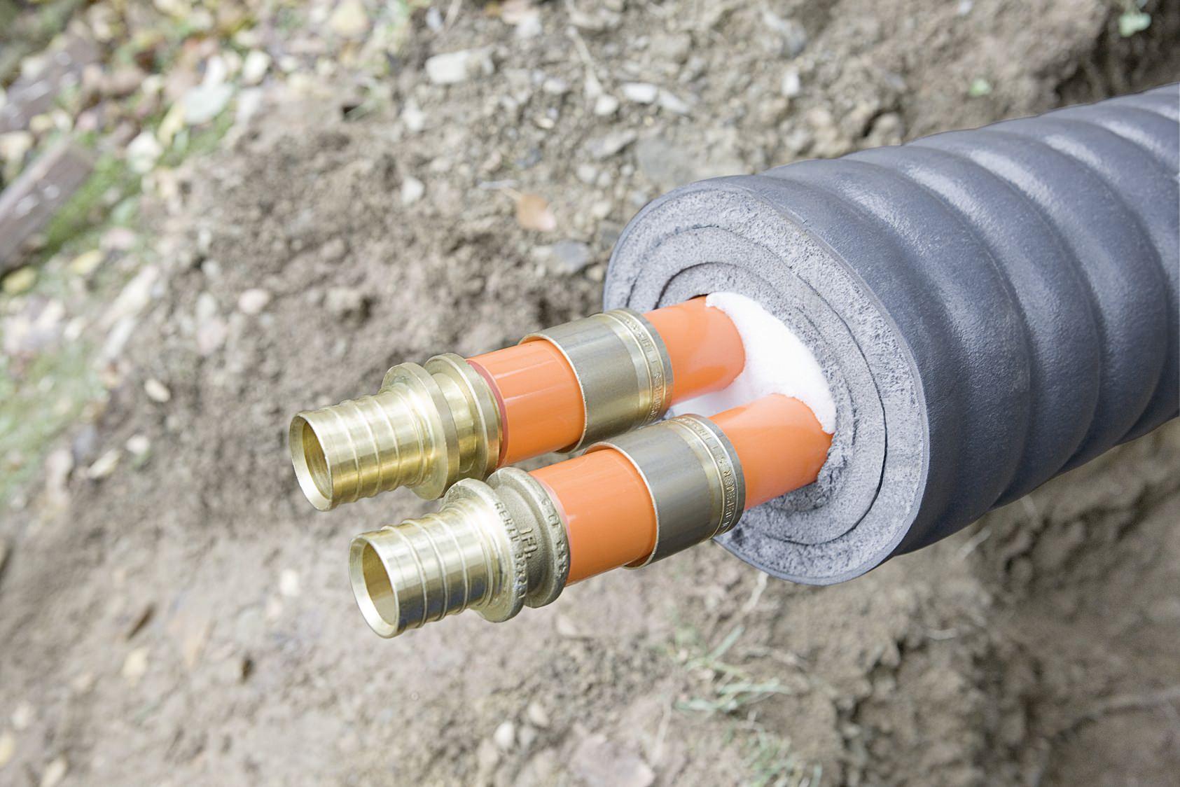 Как и чем утеплить водопроводную трубу: 4 совета теплотехника
