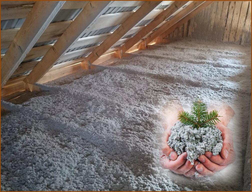 Обзор экологичных утеплителей для дома