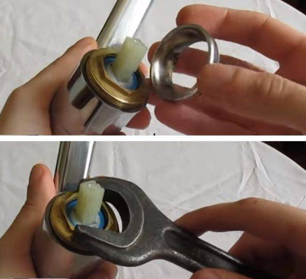 Как заменить картридж в смесителе самостоятельно